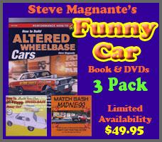 Get Steve Magnante's Funny Car 3 Pack